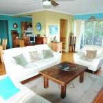 Buena Vista beach house holiday rentals Nambucca Heads - lounge