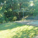 Buena Vista beach house holiday rentals Nambucca Heads - back yard