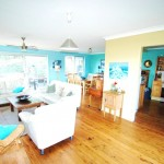 Buena Vista beach house holiday rentals Nambucca Heads - living entry